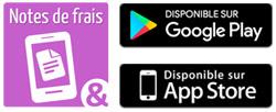 Notes de Frais Mobile - notes de frais sur smartphone